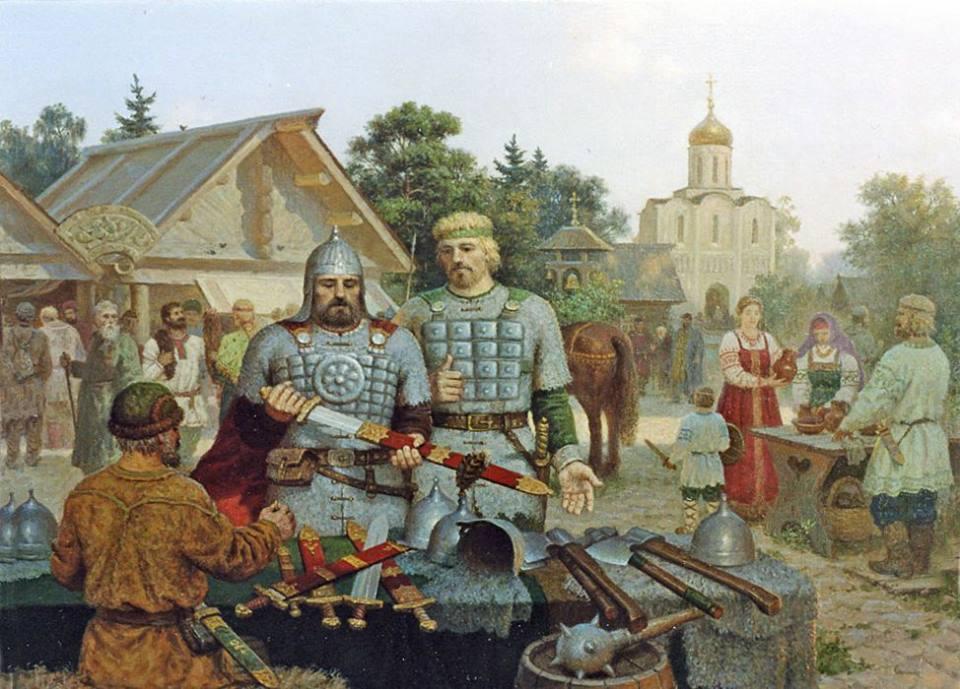 воины и торговцы